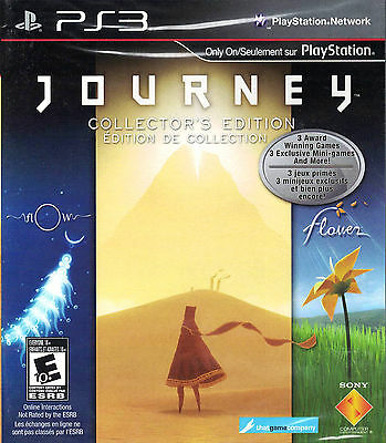 Journey Collector's Edition PS3 Game Brand New In Stock From Brisbane