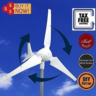 DIY Wind Turbine Generator Kit 600W 12V / 24V  Wind Generator Alternative Energy
