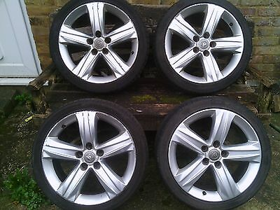 "Vauxhall Zafira 18"" alloy wheels 225/40Z R18 x4 with tyres"