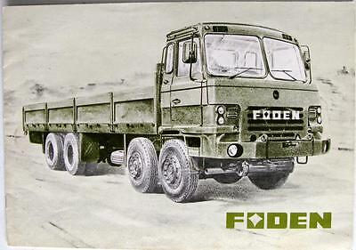 FODEN Military Vehicles Low Mobility Original Commercials Sales Brochure