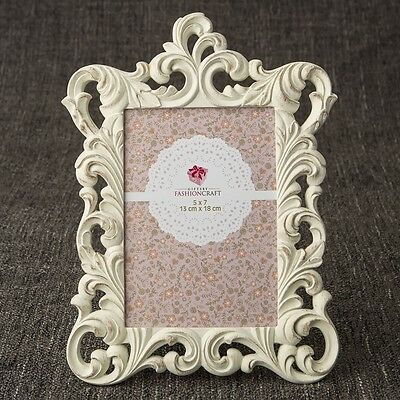 Opulent Brushed Gold Baroque 5 x 7 frame from gifts by PartyFairyBox / FC-12868