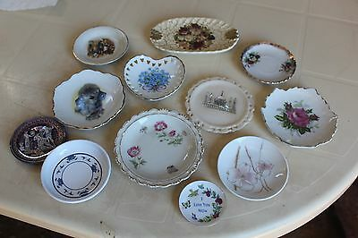 Bulk Lot Of Vintage Pin Dishes
