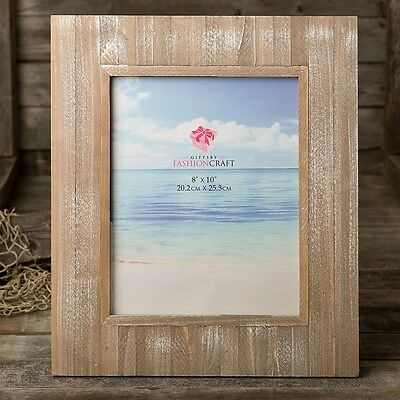 Distressed wood wide border 8 x 10 frame from gifts by PartyFairyBox / FC-12220