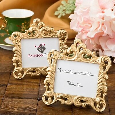 Gold Baroque style frame favor from PartyFairyBox - Anniversary Favors / FC-8386