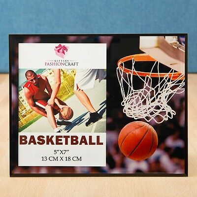 Magnificent basketball themed Frame 5 x 7 from Gifts By PartyFairyBox / FC-12188