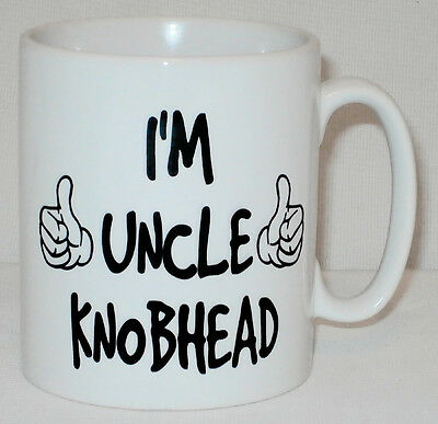 I'm Uncle Knobhead Mug Funny Rude Office Dad Brother Work Gift