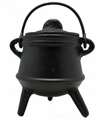 Cauldron - Cast Iron - Pagan - Wicca - Ritual item