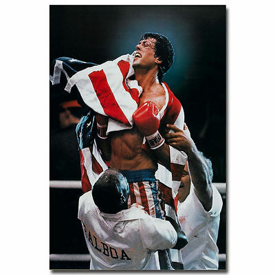 Rocky IV Movie Art Silk Poster 24x36inch