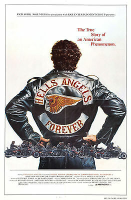 Hells Angels Forever Movie Art Silk Poster Wall Decor 24x36 inch