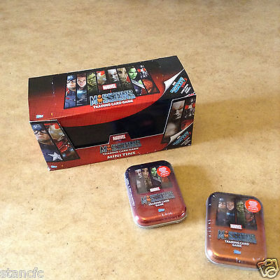 Marvel Missions Trading Card Game Mini Tin 39 Cards + 1 Limited Edition Card