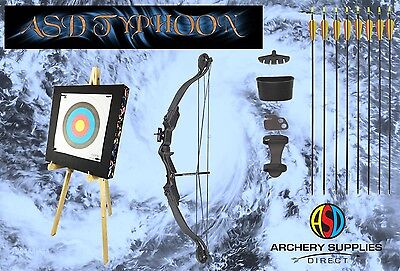 ASD Typhoon Compound Archery Bow With Junior Training Kit