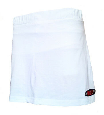Womens Large TK Ghent Skort WHITE Hockey Netball Tennis skirt