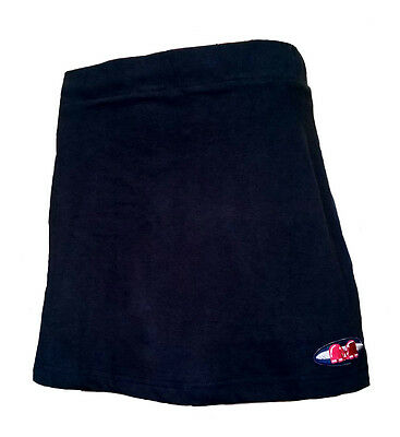 Womens Small TK Ghent Skort BLACK Hockey Netball Tennis skirt AM