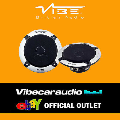 "Vibe Slick 5 V5 13cm 5.25"" 210 Watts 2 Way Car Door Coaxial Speakers FREE P&P"