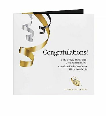 2017-S  Congratulations Set American Eagle Proof Coin (S-MINT) (In Stock)