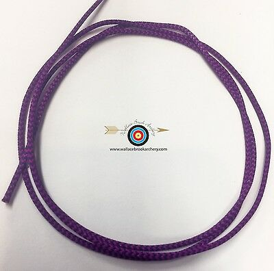 3/' BCY Flo Pink D Loop Material Archery Bowstring Rope Drop Away Cord