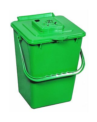 Exaco ECO-2000 2.4 Gallon Kitchen Compost Waste Collector Green