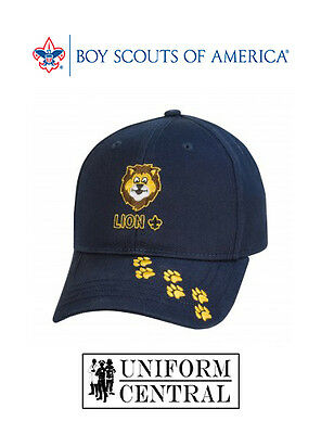 NEW BSA Boy / Cub Scouts of America LION Hat / Cap - Toddler & Youth Sizes