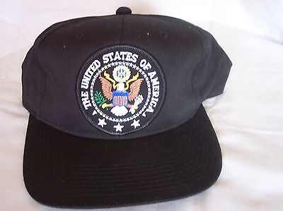 United States of America Trucker Cap With Adjustable Snap Back Closure