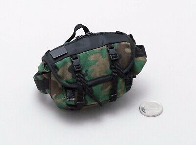 1//6 Scale Agency GRS Asset Woodland Camo Mystery Ranch Messenger Bag