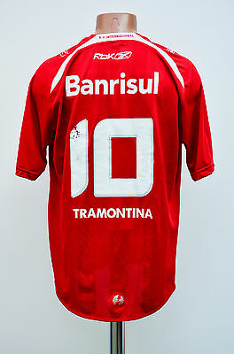 Internacional Brazil 2000's Home Football Shirt Jersey Camiseta Reebok #10