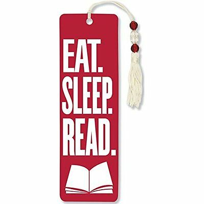 Novelty Funny Bookmark Unique Beaded Ducument Quote Book Marker Label Stationery