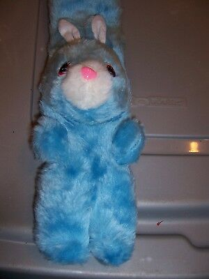 NEW Blue Plush Bunny Infants/Toddler Neck Scarf