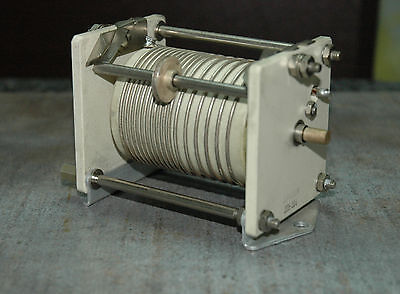 VARIABLE ROLLER INDUCTOR COIL -RF LINEAR AMPLIFIER -ANTENNA TUNER-JOHNSON 10uH