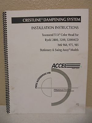 Crestline Dampening System Installation Instructions Manual