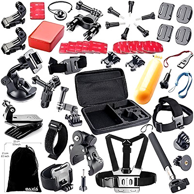 BAXIA TECHNOLOGY 44-in-1 Accessories for GoPro HERO 5 Session 4 3+ 3 2 1 Black S