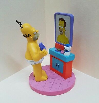 """""""Homer's Hair Dream"""" The Simpsons At Home with Homer Collection Hamilton"""