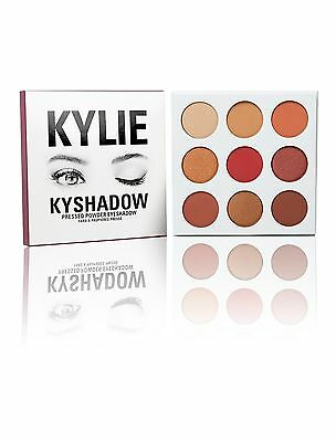NEW Kylie Jenner The BURGUNDY Palette 9 COLOUR PALETTE BNIB UK SELLER