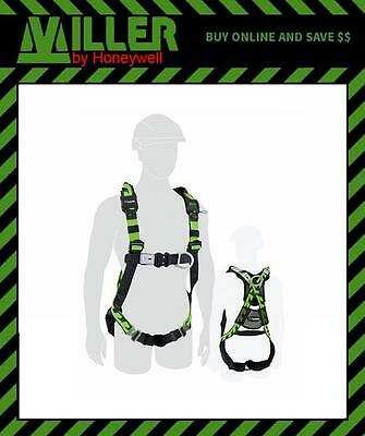 LARGE Honeywell Miller AirCore Construction Safety Harness