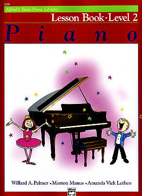Alfred's Basic Piano Library - Lesson Book Level 2 / Two  ***  NEW -  2108