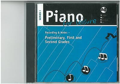 AMEB Piano for Leisure Series 1 CD Recording & Notes Prelim - Gd 2 1203062539