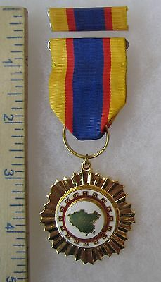 CHIN OU OUTSTANDING SERVICE Class A - Post WW2 Vintage TAIWAN ROC CHINA MEDAL