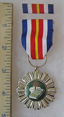 Post WW2 Vintage TAIWAN ROC CHINA CHIANG FENG ARMY ACHIEVEMENT MEDAL Class B