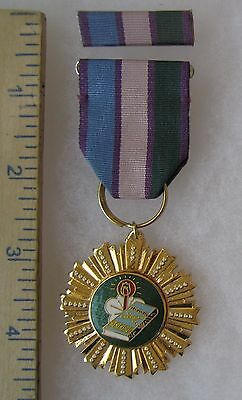 Post WW2 Vintage TAIWAN ROC CHINA CHIANG FENG ARMY ACHIEVEMENT MEDAL Class A