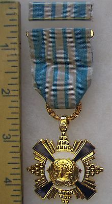 Post WW2 Vintage TAIWAN ROC CHINA DISTINGUISHED SERVICE MEDAL 2nd Grade Class B