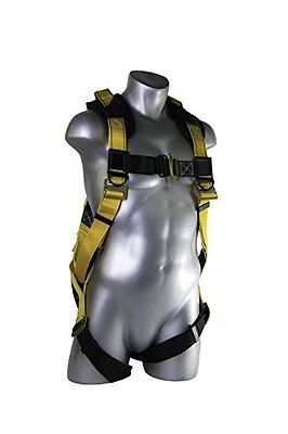Guardian Fall Protection 11163 XL-XXL Seraph Universal Harness with Side D-Rings