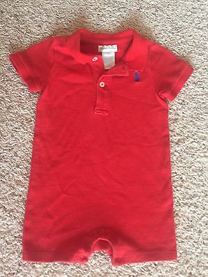 Baby Boy Ralph Lauren Size 9 Month One Piece Outfit