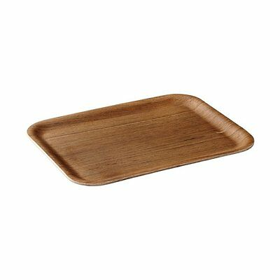 KINTO Nonslip Non Slip Rectangle Tray S Teak 45152 from JAPAN