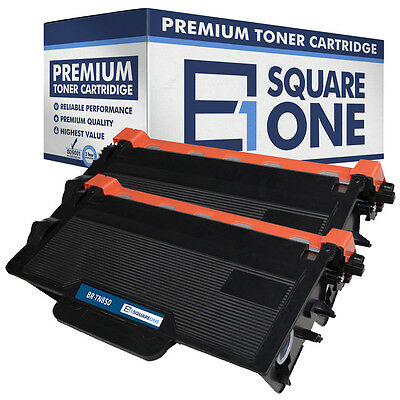 eSquareOne Toner Cartridge Replacement for Brother TN850 TN820 (Black, 2-Pack)