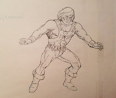 Masters He-Man Commercial Mattel Animation Drawing He-Man Lost Commercial MOTU