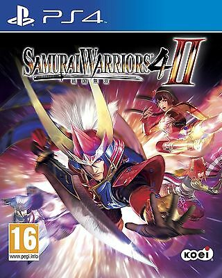 Samurai Warriors 4 II PS4 Playstation 4 Game Brand New In Stock from Brisbane