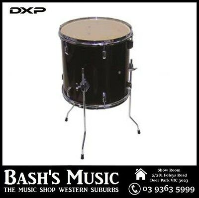DXP DRU35B 14 x 14 Floor Tom Clear Heads 12 Lugs 3 Legs