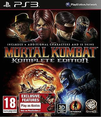 Mortal Kombat Komplete Edition PS3 Playstation 3 Brand New In Stock Brisbane
