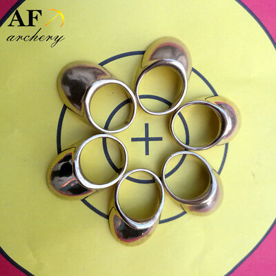 AF archery 17-23mm Copper Thumb Ring for Archery long bow for shooting