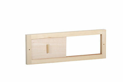Harvia Sauna Valve Flap Cover and Grate SAS24200 made Durable Wood and Plywood