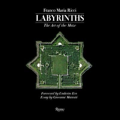 Labyrinths: The Art of the Maze by Franco Maria Ricci Hardcover Book (English)